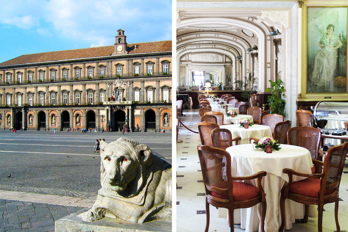 Guided tour and Concert: Historical Places and Music at the Gran Caffè Gambrinus