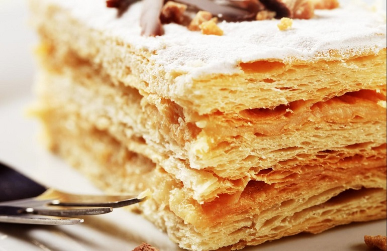 Classic pastry: the millefeuille
