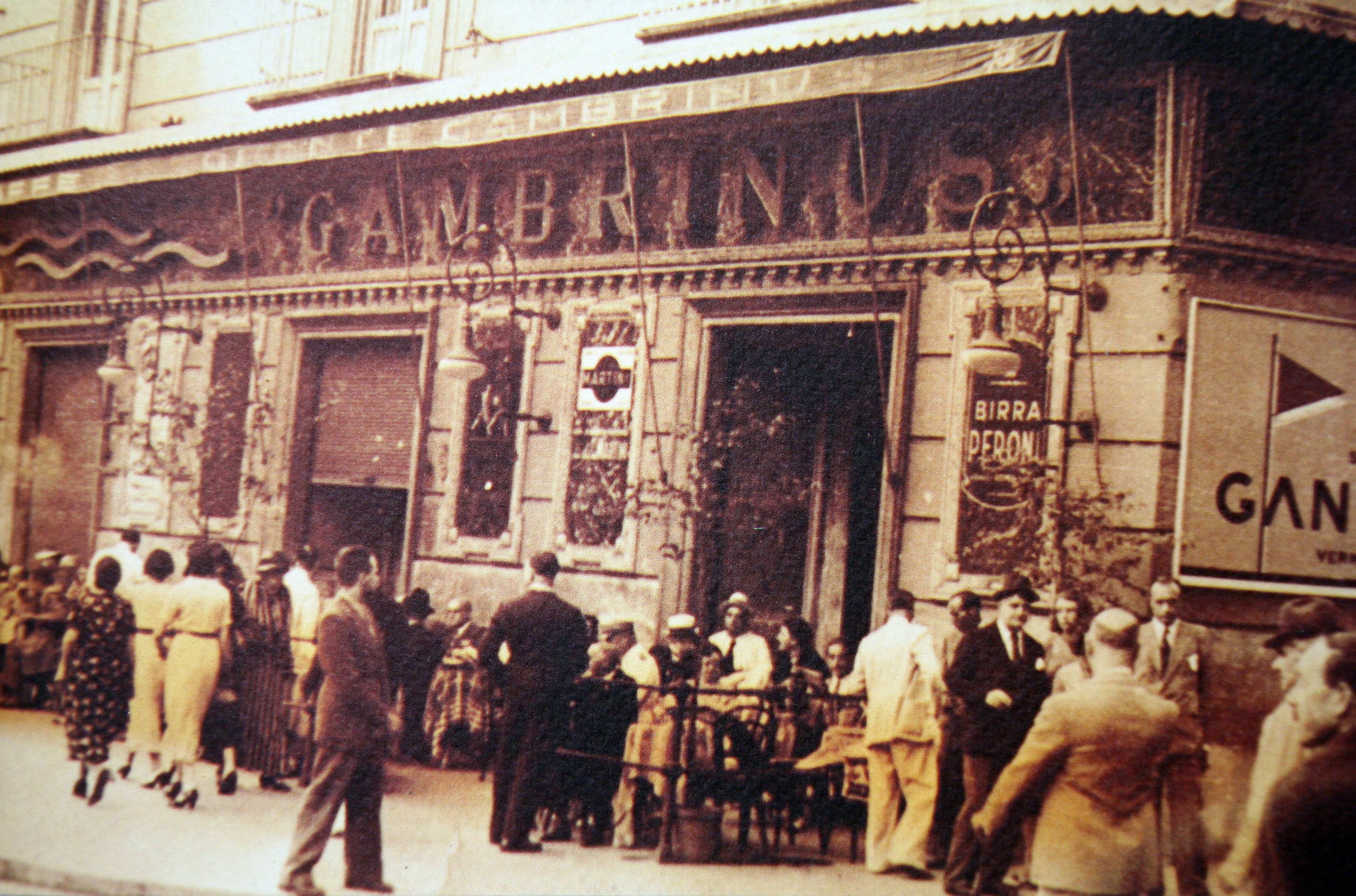Gambrinus, 20s of the 20th century