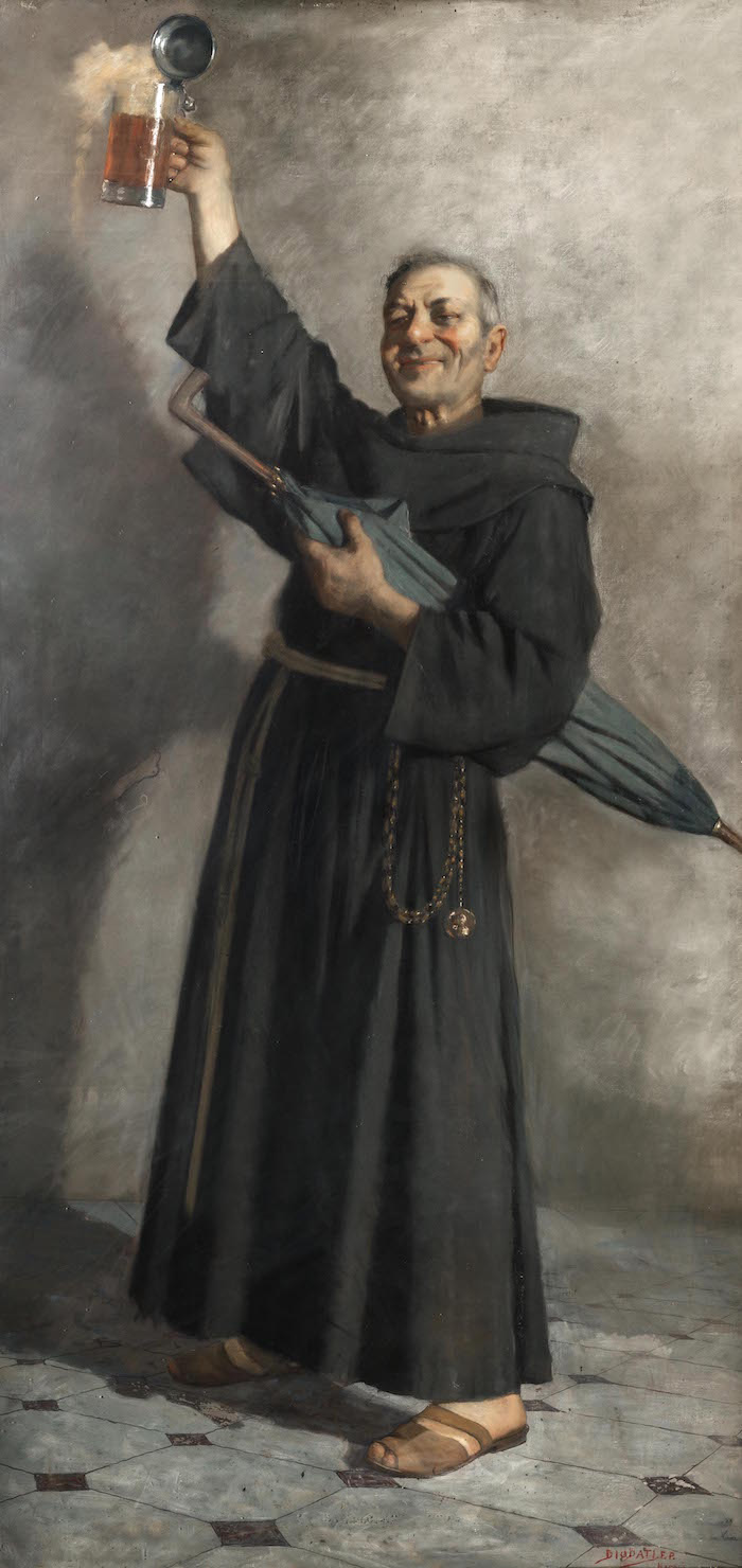 The monk beone, Francesco Paolo Diodati