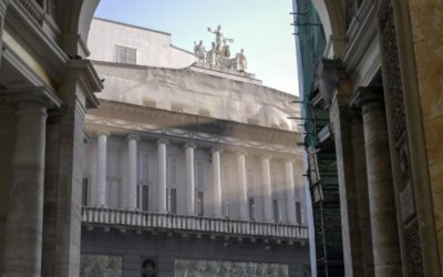 The restyling of the San Carlo Theatre