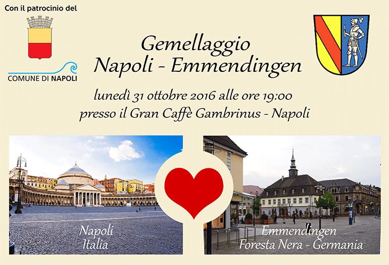 Il gemellaggio Napoli – Emmendingen