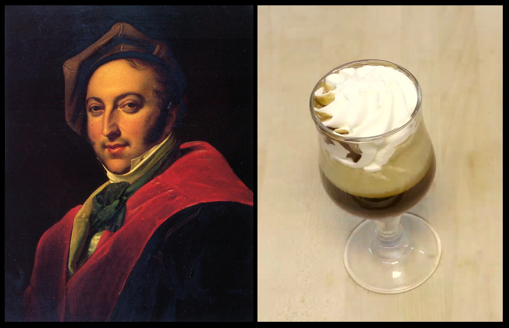 La Barbajata: the favorite coffee by Gioacchino Rossini