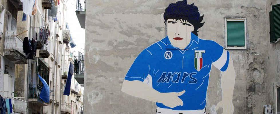 Un caffè in onore a Maradona