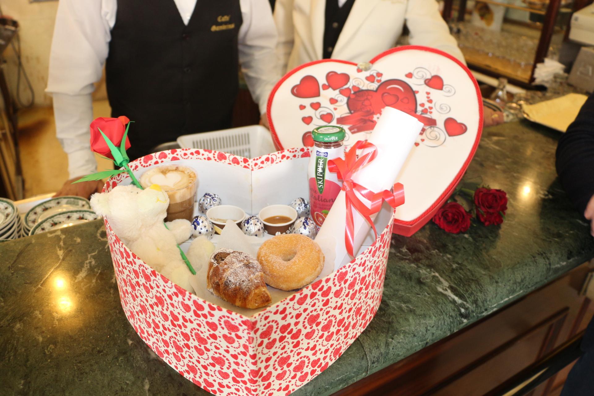 Una colazione speciale per il giorno di San Valentino