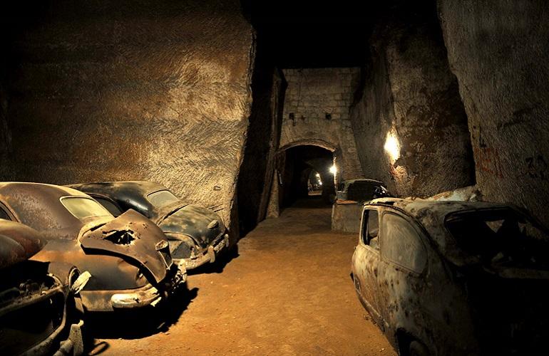 La Napoli di sotto: la galleria borbonica