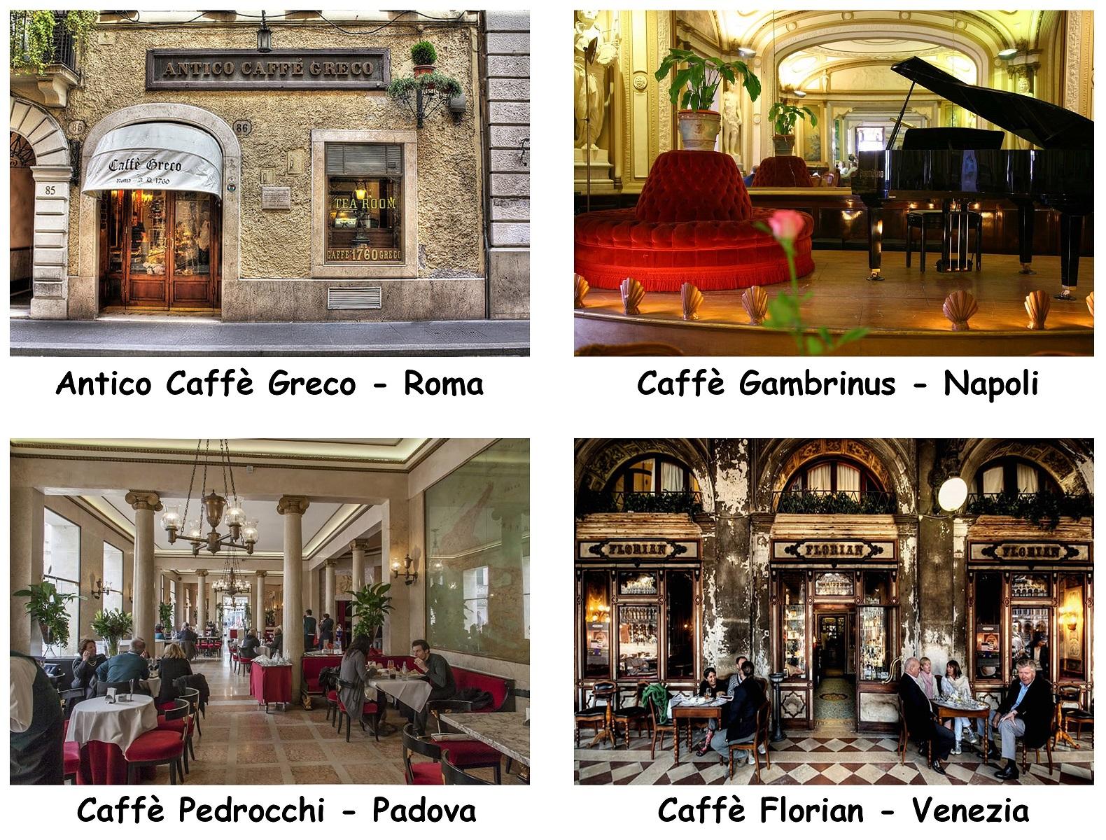I Caffè storici d'Italia