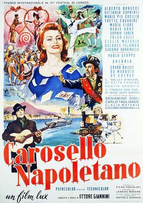 Il caffè napoletano ed il cinema: Carosello napoletano con Sophia Loren -  Gran Caffè Gambrinus