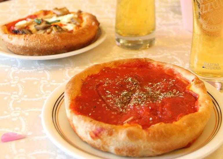 Pizza al tegamino: la bontà di origine torinese