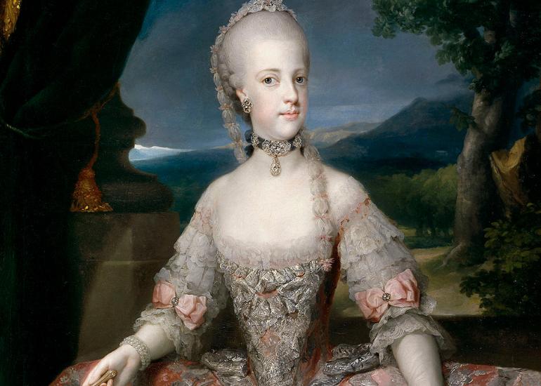 La Regina e il primo caffè di corte