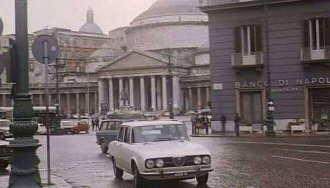 Square Trieste e Trento , 70's