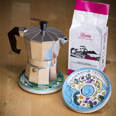 CONVENTS AND COFFEE: IN THE FEMALE PREASON OF POZZUOLI, FORMER CONVENTION, THE CAFFÈ LAZZARELLA IS PRODUCED.