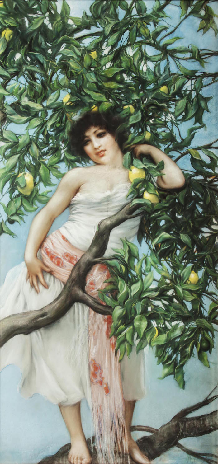[:it]Fronn' e limone, Vincenzo Migliaro[:en]Branch of lemons, Vincenzo Migliaro[:]