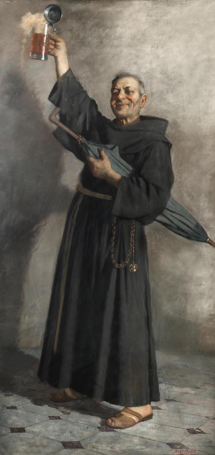 Il monaco beone, Francesco Paolo Diodati