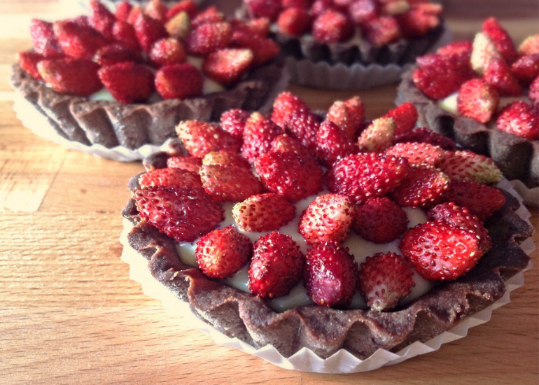 The strawberry tart
