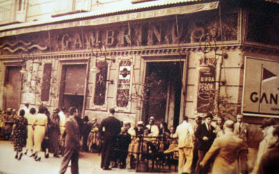 Has we you used to drink coffee in Naples in the last century