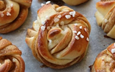 Kanelbullar, the typical Swedish dessert