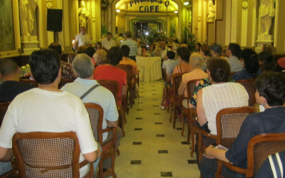 Cafes: gatherings of associations, committees and clubs