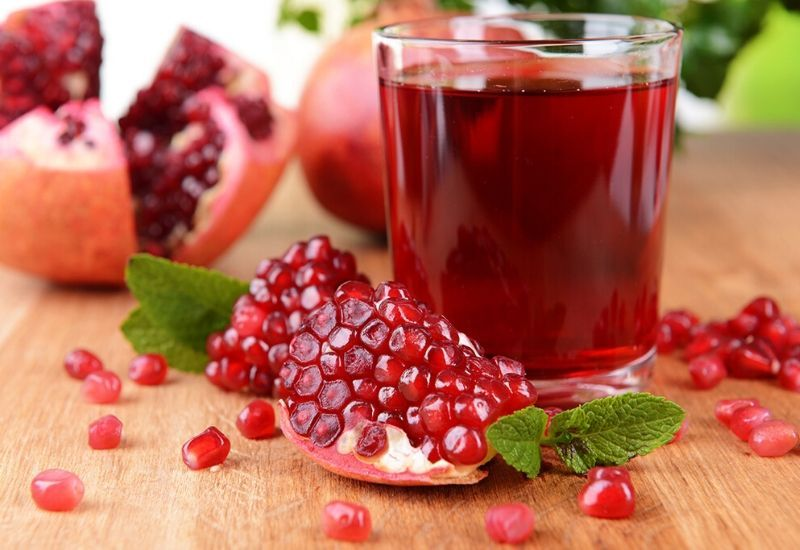 Pomegranate juice, a true elixir of life!
