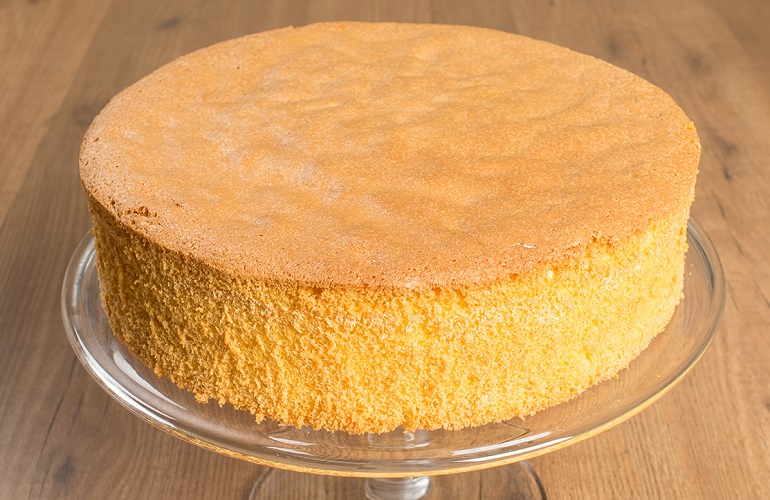 The Sponge cake was born in Italy