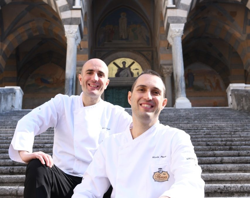 Coffee and lemon to combat headaches: the amalfitano Sfusato from Pasticceria Pansa