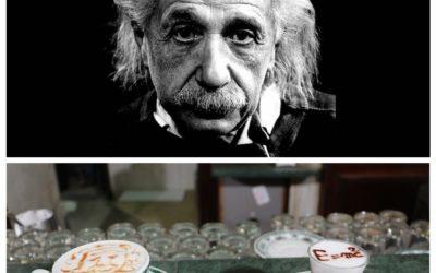 Einstein coffee