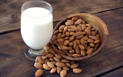 Differences between barley water, almond milk and almond paste