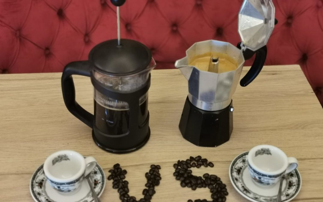 French Press against Moka: France vs Italy