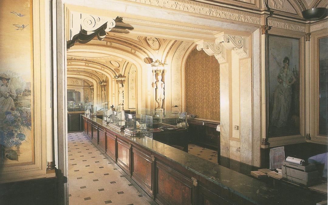 The Banco di Napoli at the Gambrinus