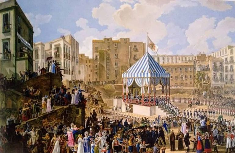 The great Bourbon Carnival of the Kingdom of Naples