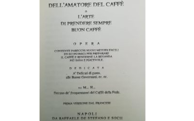 Manual of the perfect coffee lover from 1836