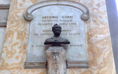 The architect of the Gambrinus and of the Galleria Umberto I in Naples: Antonio Curri