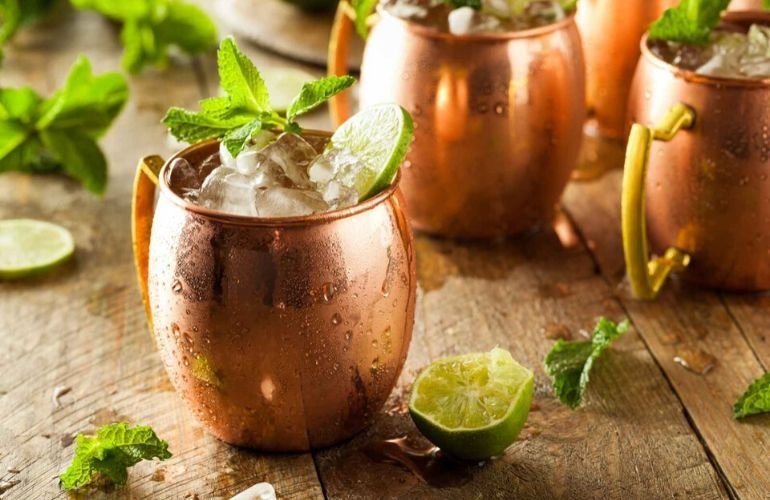 Moscow Mule, trendy cocktail