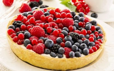 Fruit tart: queen of the spring table
