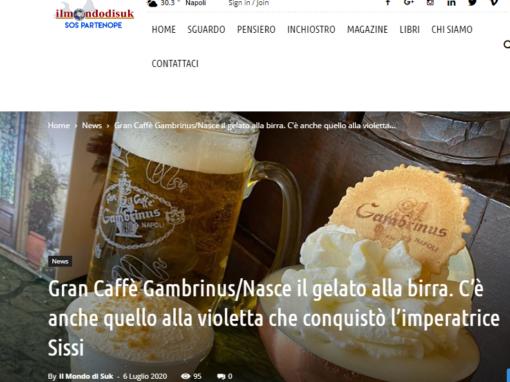 Gran Caffè Gambrinus/Nasce il gelato alla birra.